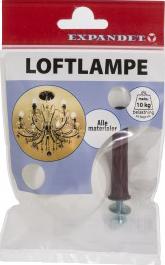 6 loftlampe